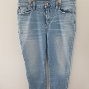 Jcrew size 32 light wash denim
